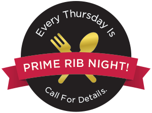 Prime Rib Night Every Thursday